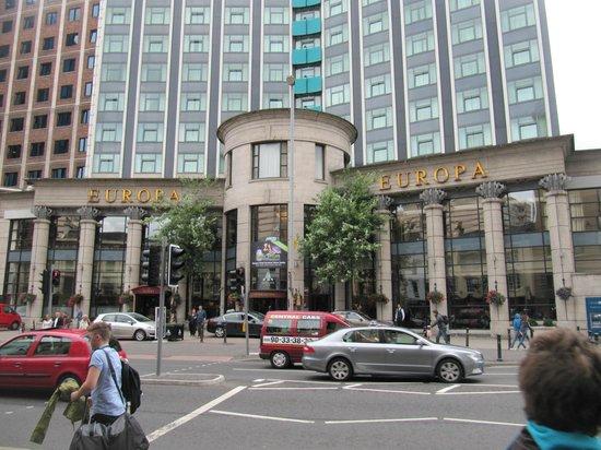 Europa Hotel - Belfast: Entrance
