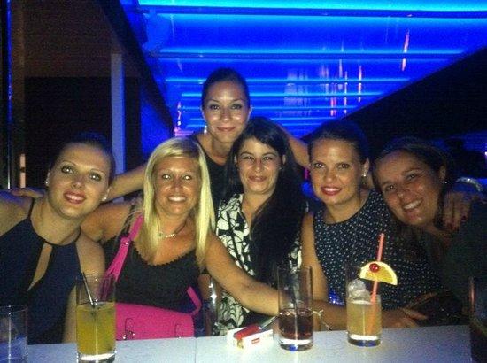 Nube Skybar: Noche de chicas por Sitges en Nube Sky Bar