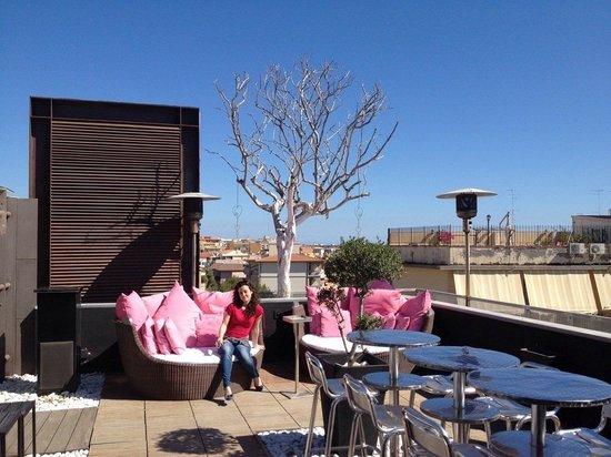 UNA Hotel One : La terrazza
