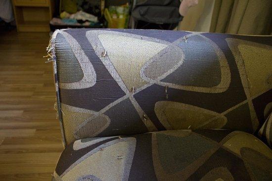 Studio 6 Van Nuys: Le canapé