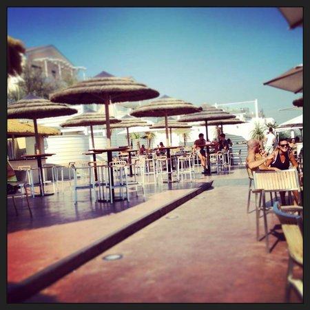 Capannina Beach: capannina