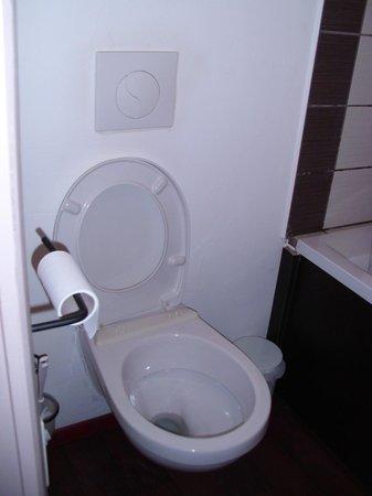 La Chaloupe : Cuvette des WC cassée...