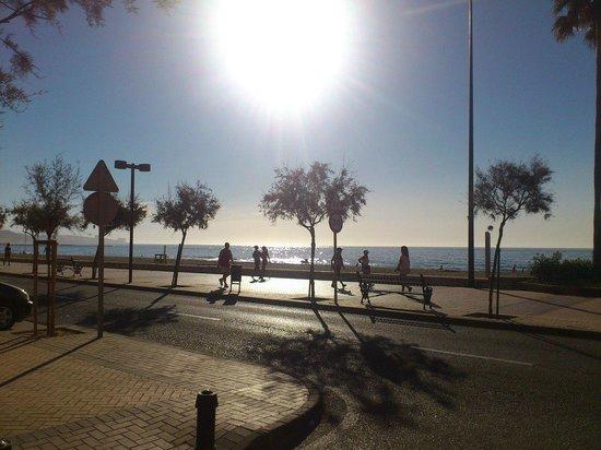 Mas Playa: Paseo marítimo