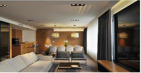 Radisson Blu Plaza Hotel Ljubljana: Executive Suite