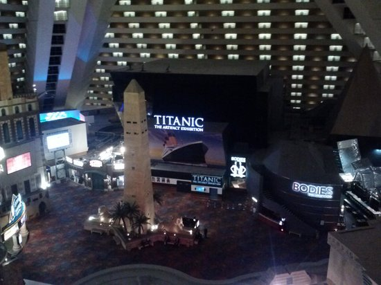 Titanic exhibit las vegas discount coupon