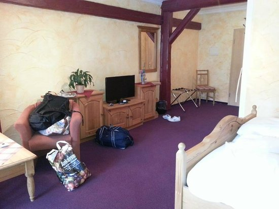 Hotel Gut Voigtländer: Lots of space!