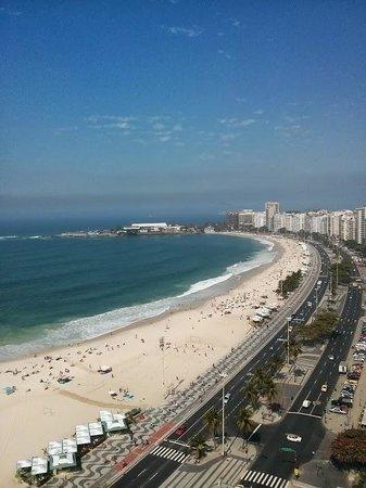 Pestana Rio Atlantica: Vista da Piscina