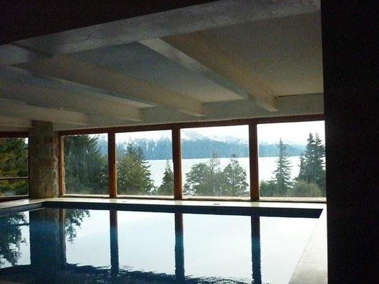 Hotel Tunquelen : piscina climatizada