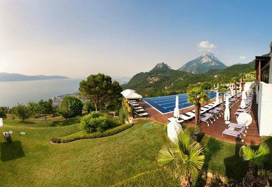 Lefay Resort & Spa Lago di Garda: Panorama ed infinity pool