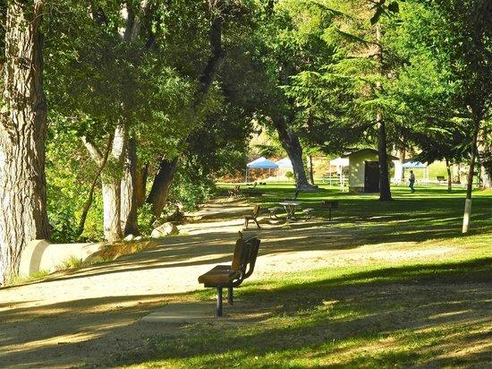 Kern River Inn Bed and Breakfast : Kern River waterfront