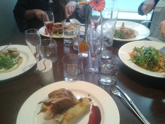 Mussi's: Our delicous lunch
