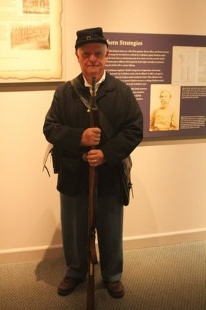 National Civil War Museum : A guide disguised as an union soldier