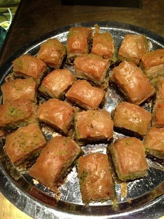 Halv Grek plus Turk : baklava