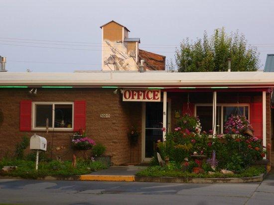 Greybull Motel: Ingresso reception