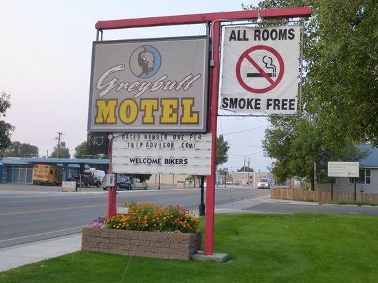 Greybull Motel: insegna motel