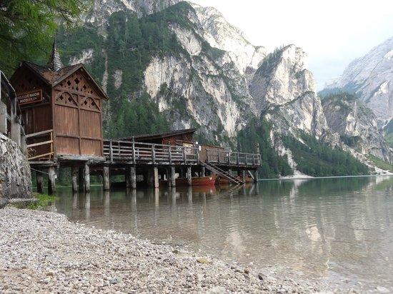 Hotel Pragser Wildsee: Bootsverleih