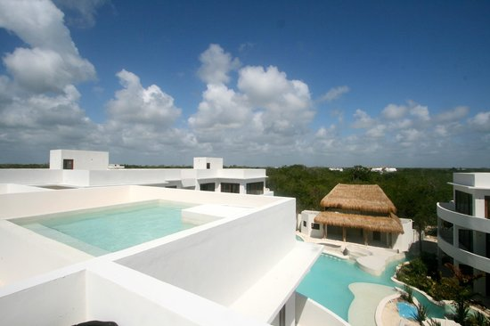 Intima Resort Tulum: Rooftop plunge pool
