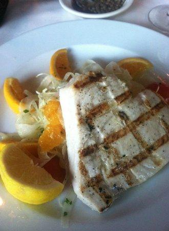 La Masseria: Swordfish with fennel/orange salad-divine!