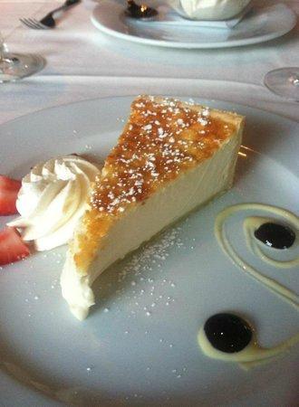 La Masseria: the creamiest ricotta pie I've ever had!