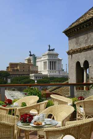 Terrazza - Picture of Hotel Forum Roma, Rome - TripAdvisor