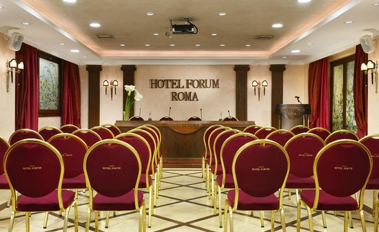 Hotel Forum Roma: Sala conferenza