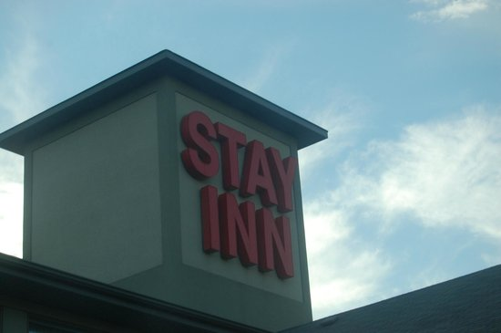 Stay Inn: The Roof sign