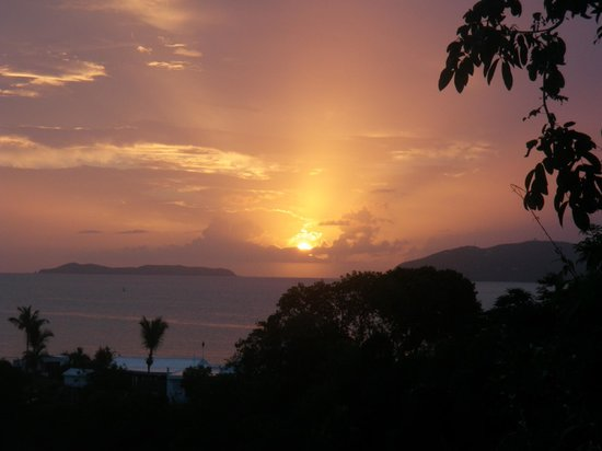 Virgin Islands Campground: Breathtaking sunsets