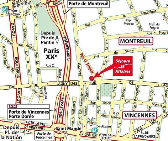 Sejours Affaires Montreuil Saint Mande Paris France