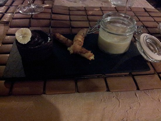 Restaurant le Belvedere: le dessert
