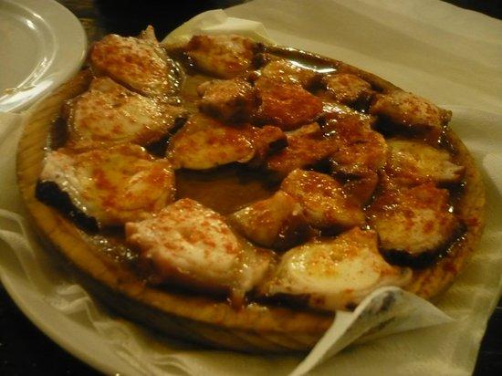 Restaurante La Boveda : le poulpe vraiment très bon