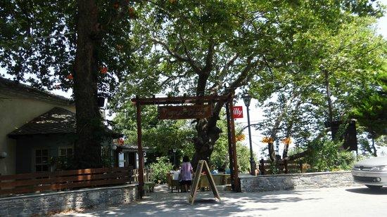 Agna..Di Cafe DiVino: The main entrance of the Cafe