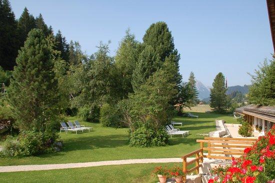 Romantik Hotel Hornberg: La vue de la chambre