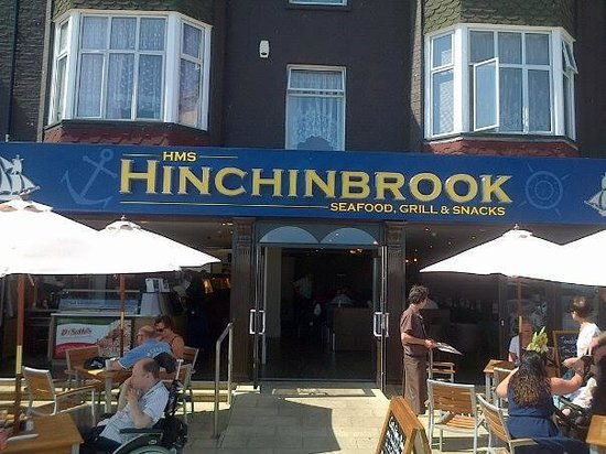 HMS Hinchinbrook: LOOK FOR THIS SIGN FOR GREAT VALUE