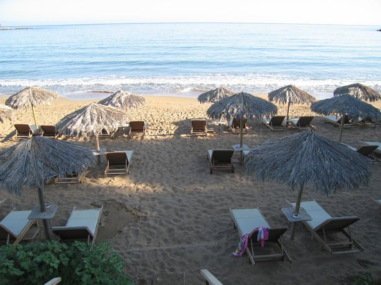 Agii Apostoli, Greece: Hotelstrand