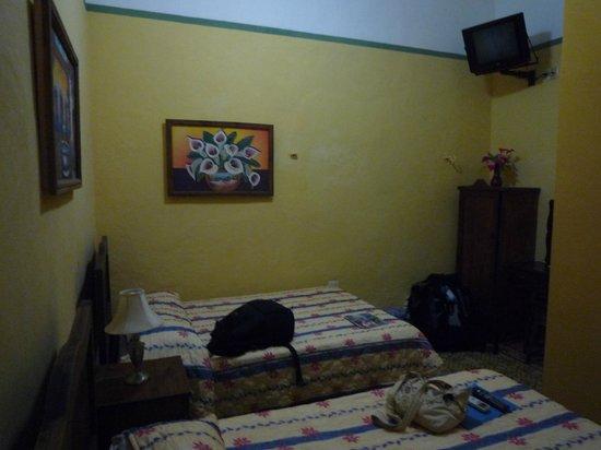 Hotel del Peregrino : 2 grands lits