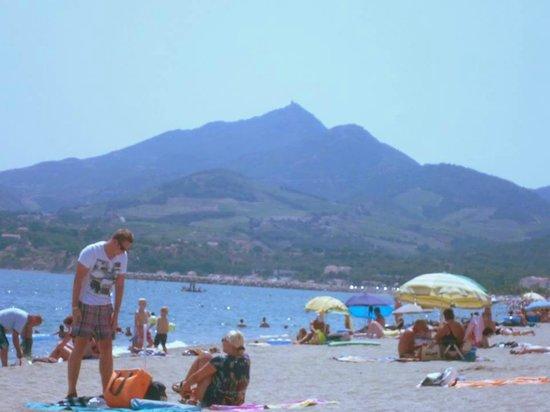 Camping Les Pins: La Racou beach at Argeles Sur Mer
