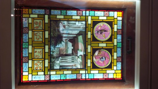 Upper Canada Village: Stained Glass from Wiser Mansion Prescott