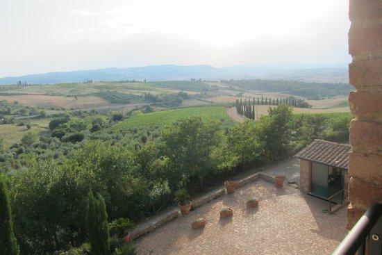 Residenza Il Poggiolo: Casa Rossa's view