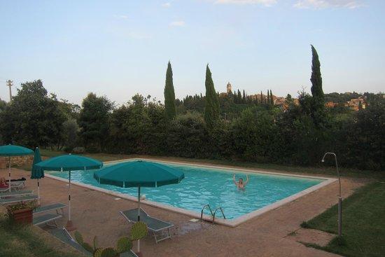 Residenza Il Poggiolo: Gorgeous natural pool area