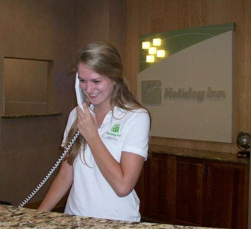 Holiday Inn Gainesville University Center: Friendly Service