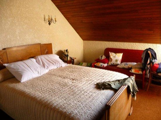 Hotel du Col d'Osquich : Chambre au 2 ième étage