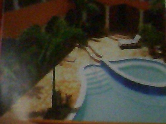 Hotel Posada de Don Juan: Esta es la piscina