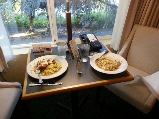 Radisson Hotel Portland Airport: Room Service