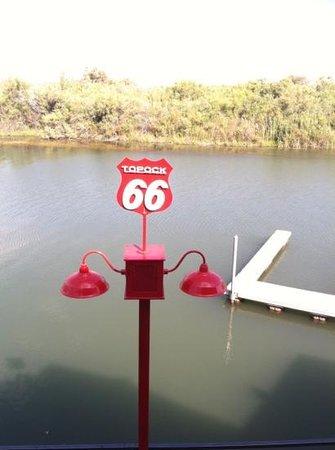 Topock, AZ: the river