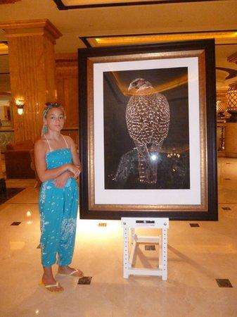 Emirates Palace: холл