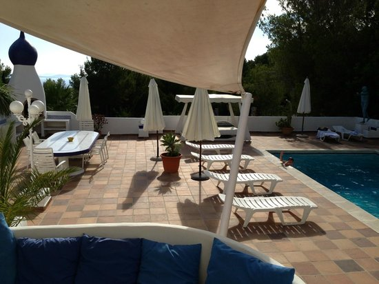 Casa Datscha : The view and the pool