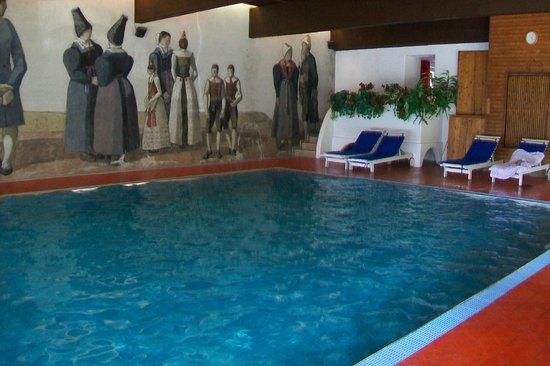 Hotel Rodes: Piscina coperta