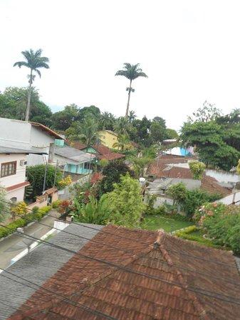 Pousada Anambe: vista da varandinha