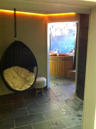 The Garage Spa: Peace & quiet