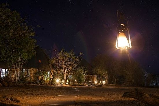Kambaku Safari Lodge: la notte